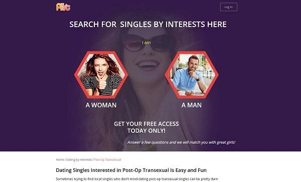 flirt transsexual