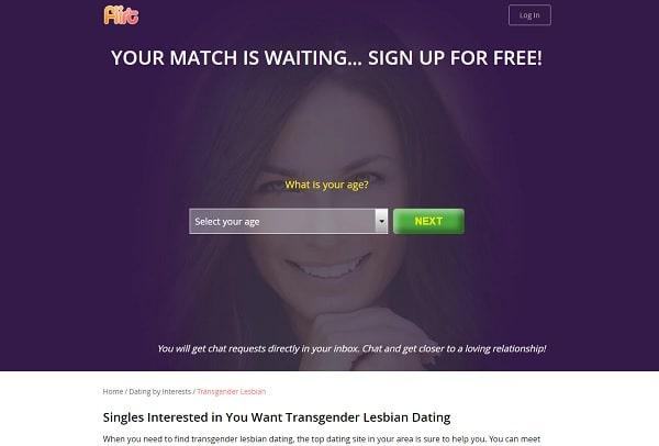 Flirt.com for Lesbian Transgender dating