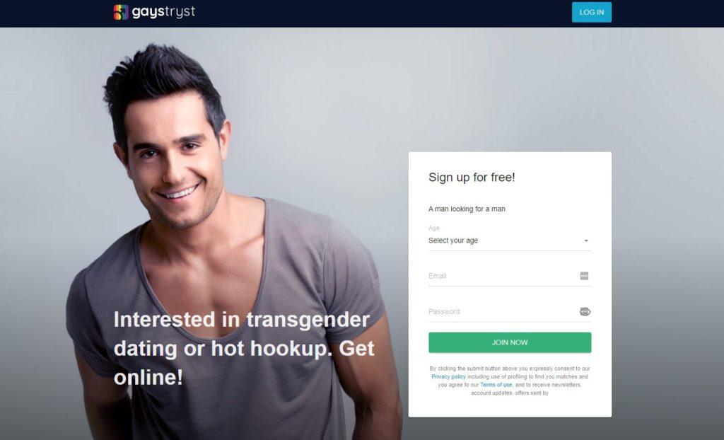 Gaystryst Transgender Hookup Online
