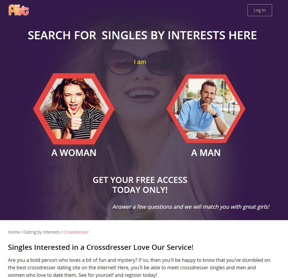 flirt crossdresser
