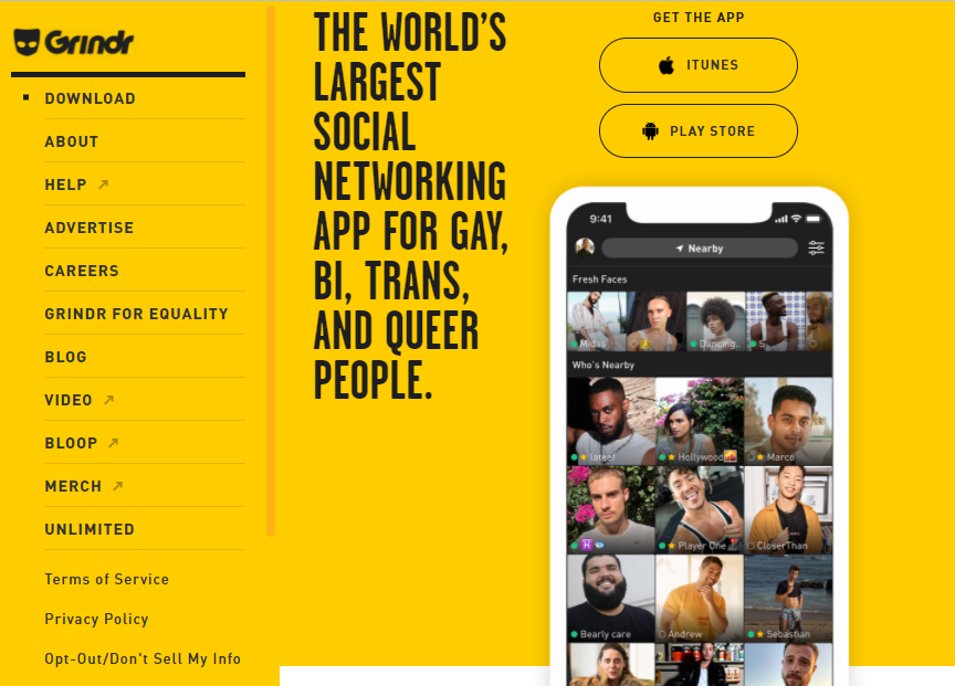 Grindr Sign in